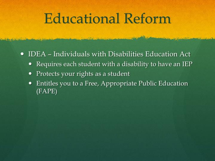 fape essay In 750-1,000-words, summarize what fape and lre are and how they are related also within your summary, evaluate and describe the ramifications of one free appropriate public education (fape) court case and one least restrictive environment (lre) court case.