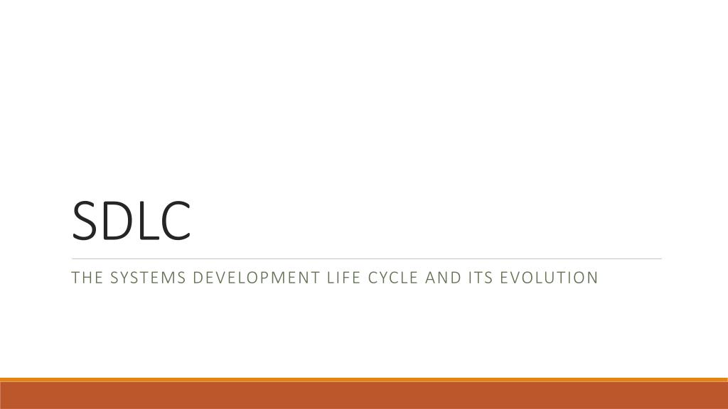 Ppt Sdlc Powerpoint Presentation Free Download Id 2601932