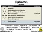 operators precedence2