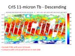 cris 11 micron tb descending