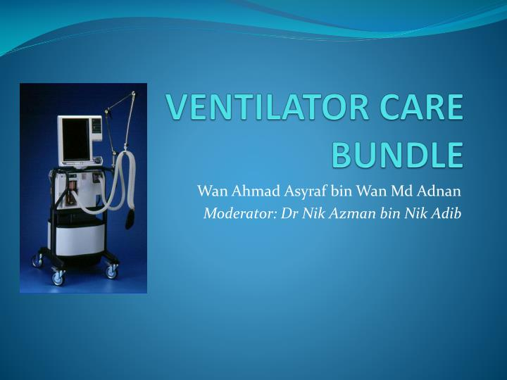 ventilator care bundle n.