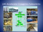 lhc accelerator cryogenics subsystems