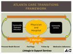 atlanta care transitions framework