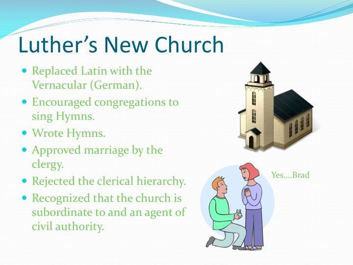 Luther's New Church