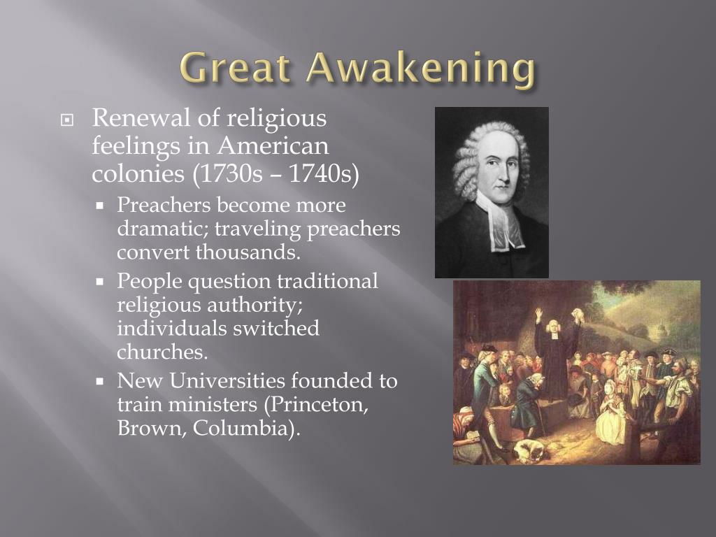 PPT - The Great Awakening & The Enlightenment PowerPoint