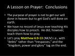 a lesson on prayer conclusions2