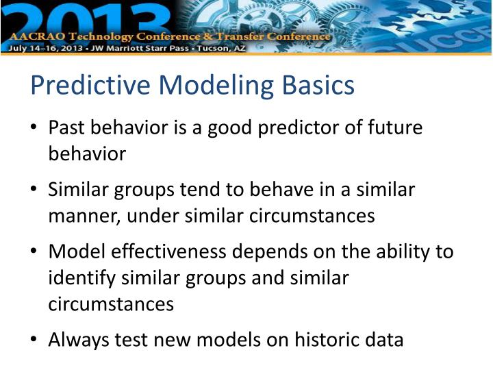 the best predictor of future behavior is past behavior organisationa behaviour In terms of cognitive behavioral psychological principles, rehabilitation and relearning, retraining, or educational programs for offenders are forms of likewise, psychologists have long recognized that the best predictor of future behavior is the individual's past behavior (mischel, 1968.