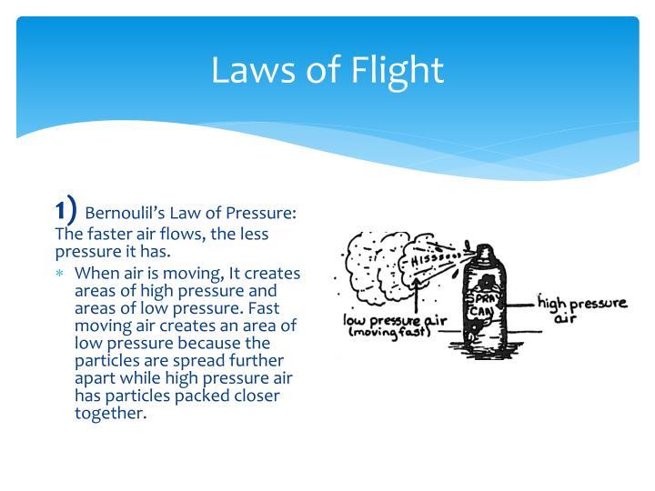 Laws of Flight
