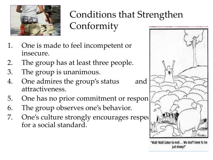 Conditions that Strengthen