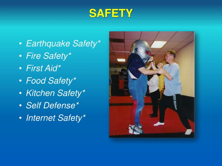 Earthquake Safety*