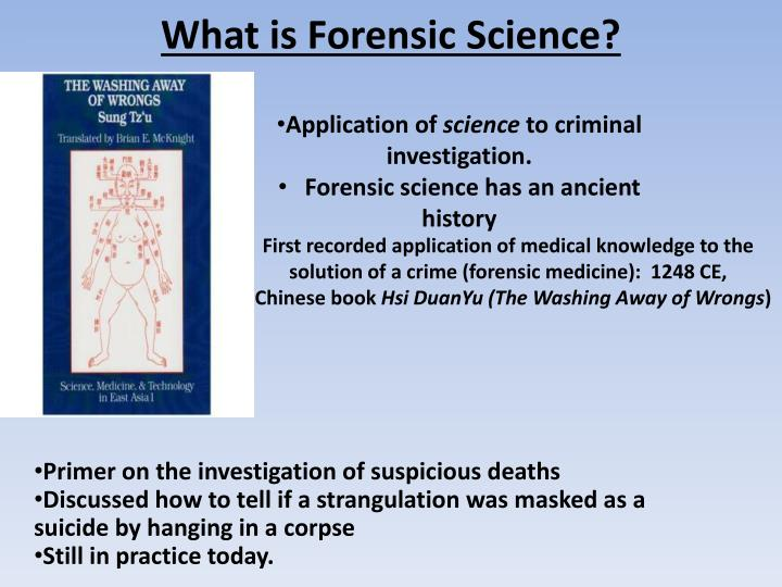Ppt What Is Forensic Science Powerpoint Presentation Free Download Id 2605498