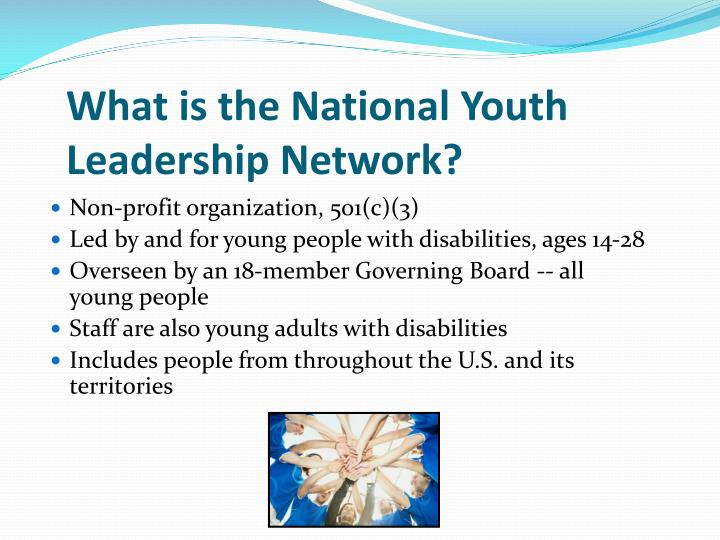 What is the national youth leadership network