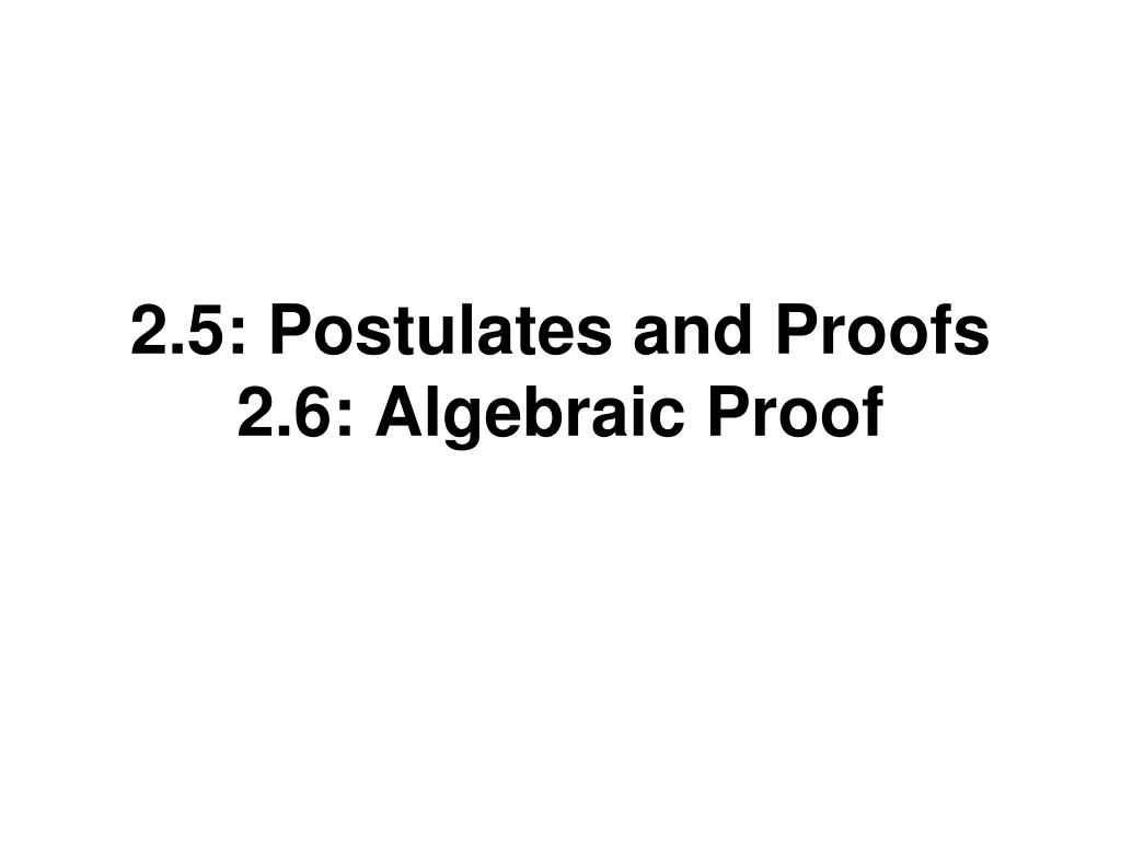 algebraic proof - Koran.sticken.co