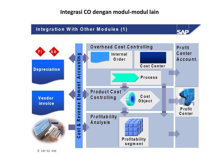 Integrasi CO dengan modul-modul lain