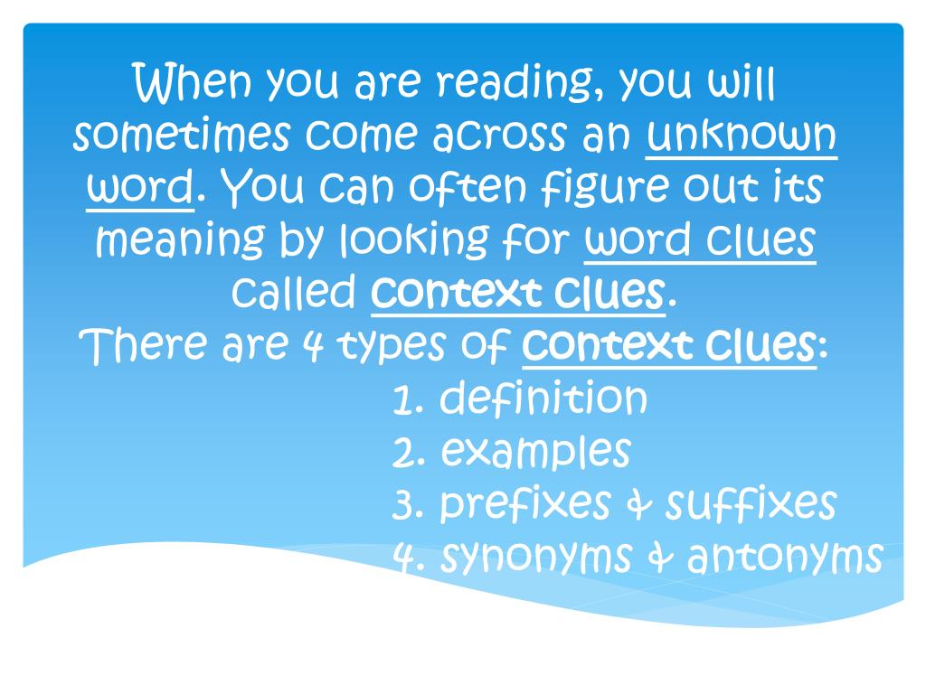 PPT - 1. definition 2. examples 3. prefixes & suffixes 4. synonyms &  antonyms PowerPoint Presentation - ID:2606240