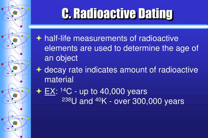 C. Radioactive Dating