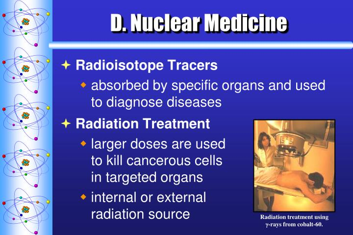 Radiation treatment using