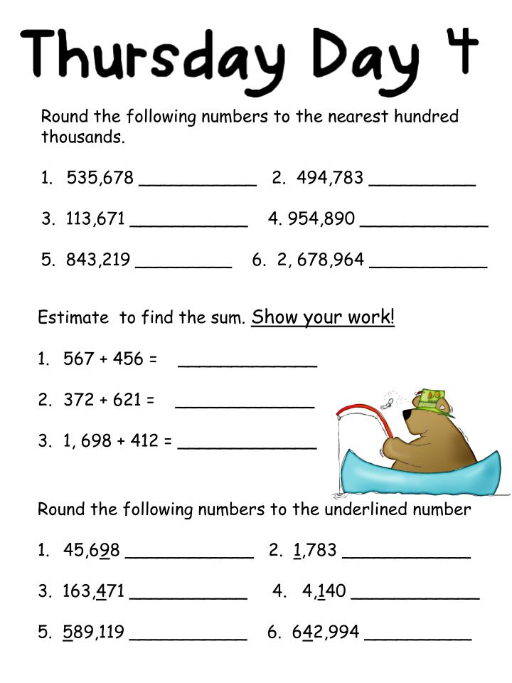 Round the following numbers to the nearest hundred thousands.