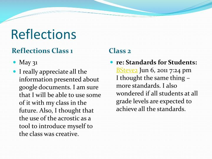 reflection of class English 111: a personal reflection as the semester comes to a close this assignment provides an excellent opportunity to look back on my experiences in this class it has become quite evident to me that i have grown a substantial amount as a writer and as a person as a result of my participation in.
