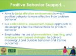 positive behavior support1