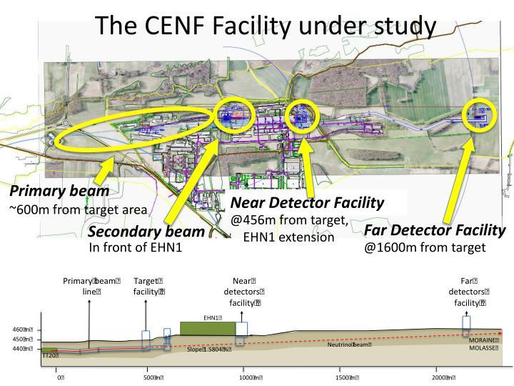 The CENF Facility under study