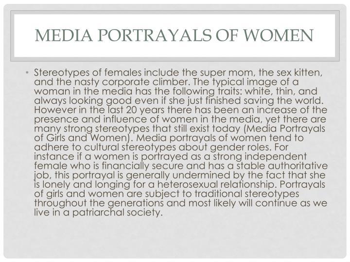 Media Portrayals of Women