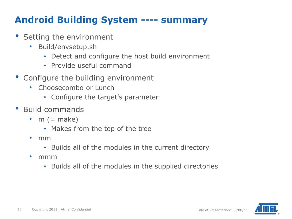 PPT - Android4SAM Porting Introduction PowerPoint