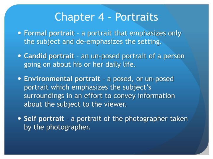 chapter 4 portraits n.