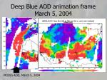 deep blue aod animation frame march 5 2004
