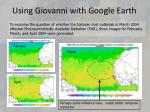 using giovanni with google earth1