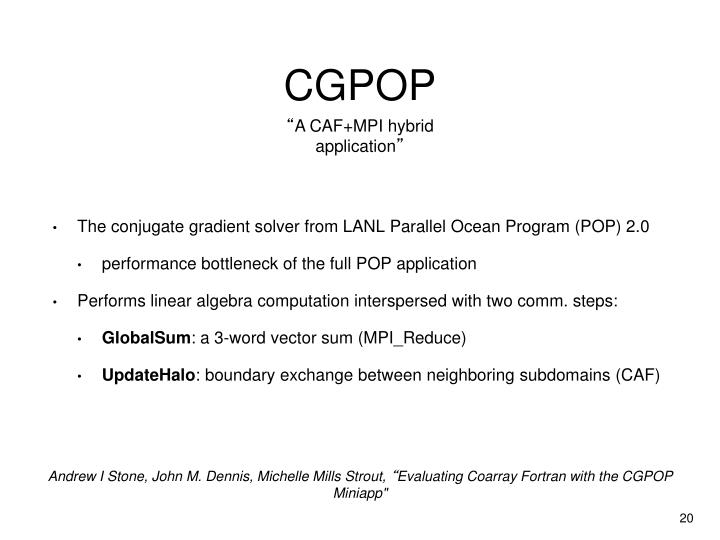 CGPOP