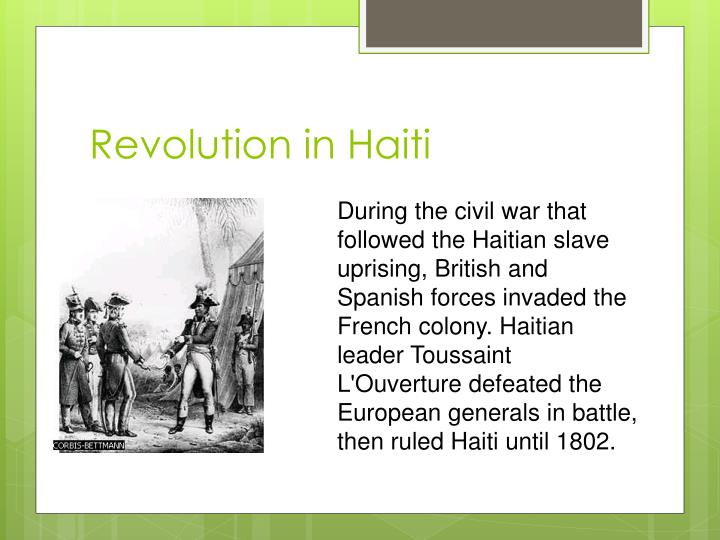 the political and social changes during the french and haitian revolutions Post-revolution social changes the impact the revolution had on the roles of women is debated by historians one of the most hotly debated topics of the american revolution is to what extent it changed the lives of ordinary people.