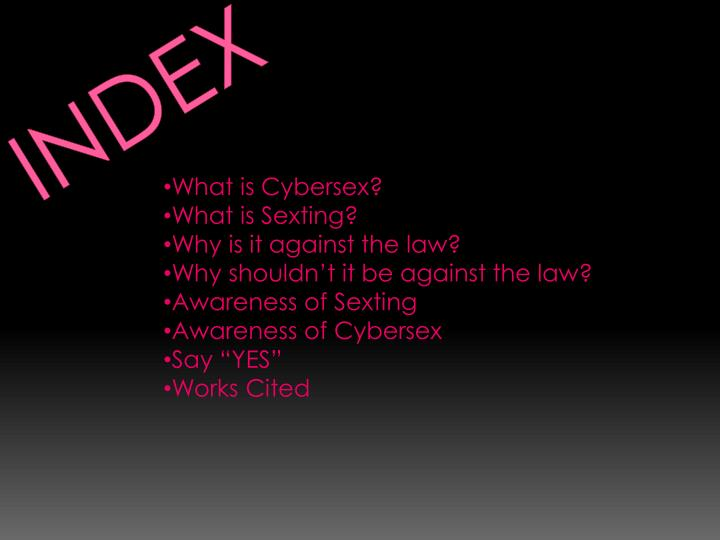 Cyber sex how works