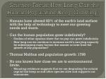 science focus how long can the human population keep growing