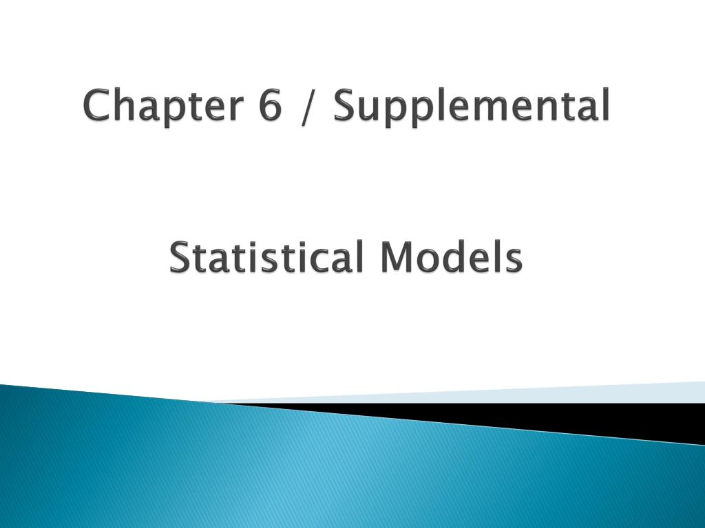 Ppt predicting species: statistical models powerpoint.