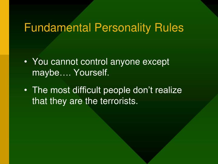 fundamentals of personalities Fundamental definition is — serving as a basis supporting existence or determining all of those fundamentals of journalism—of holding people in.