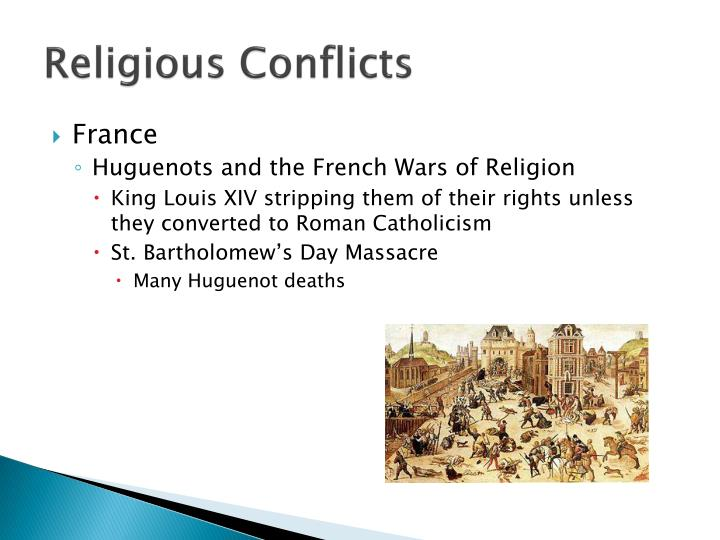 Religious Conflicts