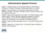 administrative appeals process