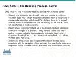 cms 1455 r the rebilling process cont d
