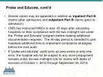 probe and educate cont d1