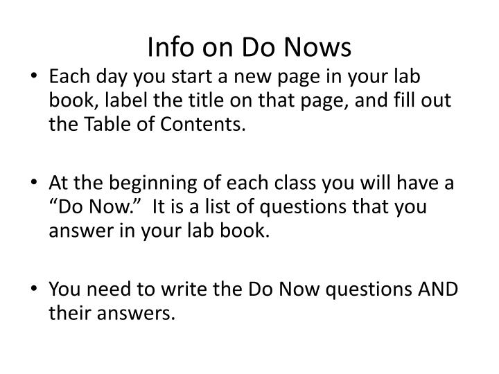 Info on Do