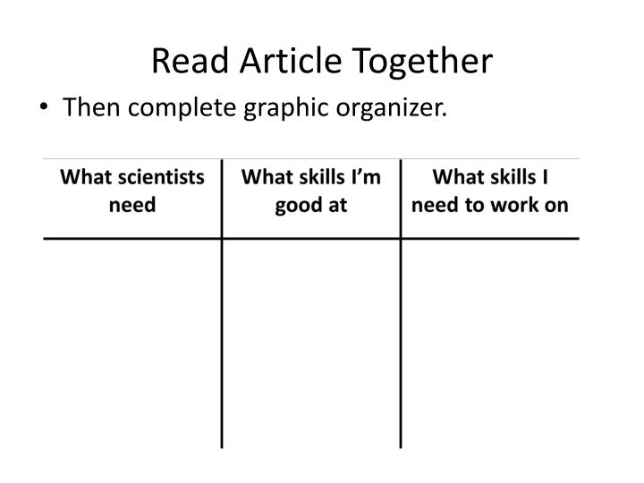Read Article Together