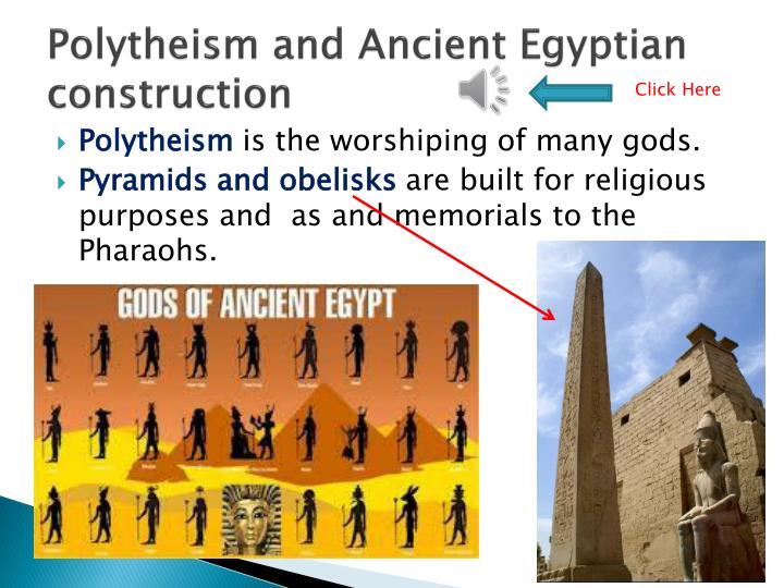 Polytheism and Ancient Egyptian construction