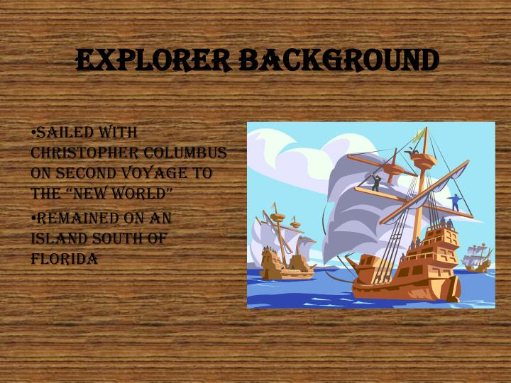 Explorer background