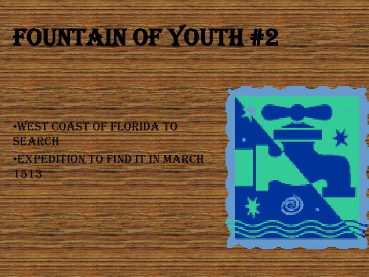 Fountain Of youth #2
