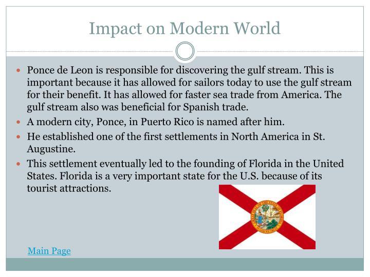 Impact on Modern World