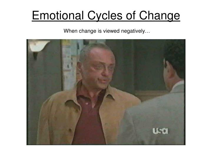 Emotional Cycles of Change