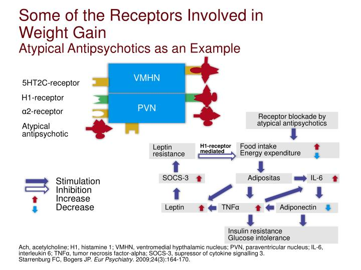 Some of the Receptors Involved in