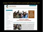 www faithformationlearningexchange net