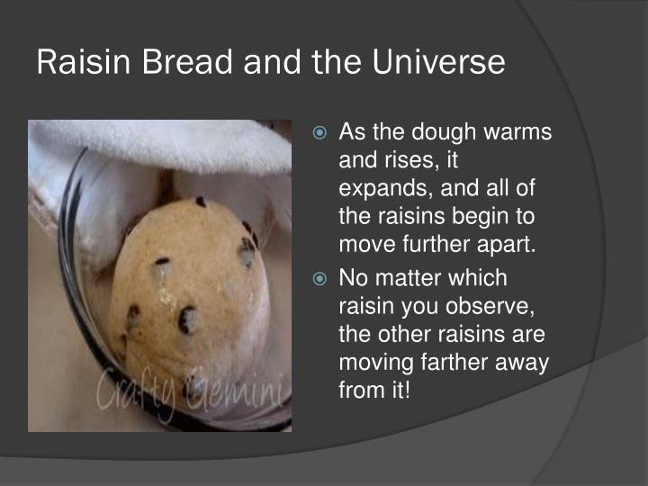 Raisin Bread and the Universe